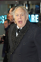 The stage, film and television actor Sir Donald Sinden has died at his home aged 90, UK, 12 September 2014, Photo taken at the Run For Your Wife - World Film Premiere, Odeon Cinema Leicester Square, London UK, 05 February 2013, Photo by Richard Goldschmidt