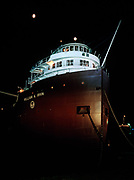 S.S. William A. Irvin, US Steel's flagship Iron Ore Freighter on the Great Lakes from 1938 to 1978.