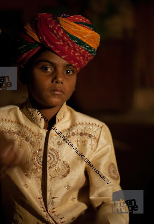 Musicians at Gajner Palace - Rajasthan Bikaner India 2011