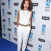 NLD/Hilversum/20150217 - Inloop Buma Awards 2015, Rochelle Perts