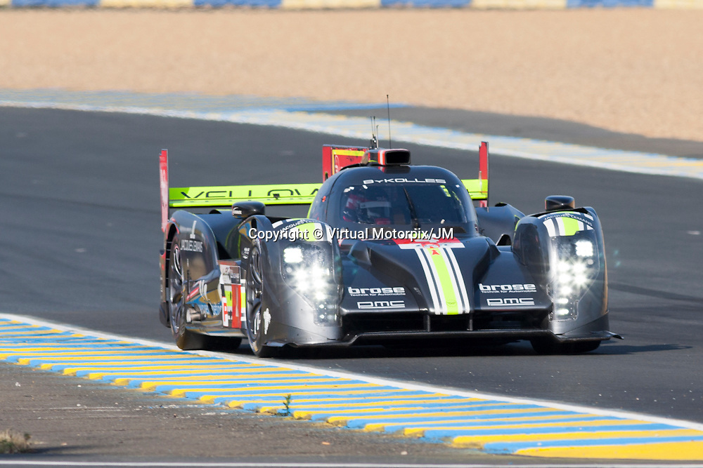 #4 CLM P1/01 - AER, ByKolles Racing, Pierre Kaffer, Tiago Monteiro, Simon Trummer, Le Mans 24H 2015