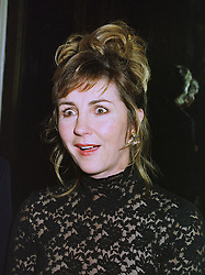 Operatic singer LESLEY GARRETT at a party in London on 1st December 1997.<br /> MDW 9