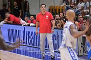 DESCRIZIONE : Trofeo Meridiana Dinamo Banco di Sardegna Sassari - Olimpiacos Piraeus Pireo<br /> GIOCATORE : Giannis Sfairopoulos<br /> CATEGORIA : Allenatore Coach<br /> SQUADRA : Olimpiacos Piraeus Pireo<br /> EVENTO : Trofeo Meridiana <br /> GARA : Dinamo Banco di Sardegna Sassari - Olimpiacos Piraeus Pireo Trofeo Meridiana<br /> DATA : 16/09/2015<br /> SPORT : Pallacanestro <br /> AUTORE : Agenzia Ciamillo-Castoria/L.Canu