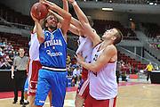 Danzica - Polonia 03 Agosto 2012 - TORNEO INTERNAZIONALE SOPOT CUP - Italia Lettonia<br /> Nella Foto : GIUSEPPE POETA<br /> Foto Ciamillo