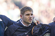 Twickenham. Surrey, UK., 16th February 2002, Six Nations International Rugby,  RFU Stadium, England vs Ireland,  [Mandatory Credit: Peter Spurrier/Intersport Images],<br /> <br /> The Lloyds TSB Six Nations Championship<br /> England v Ireland<br /> RFU - Twickenham<br /> 16/02/2002<br /> Ben Cohen<br /> <br /> <br /> <br />  <br /> <br /> <br /> <br /> <br /> <br /> <br /> <br /> <br /> <br /> <br /> Salesi Finau