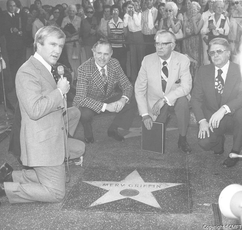 1974 Merv Griffin's Walk of Fame ceremony