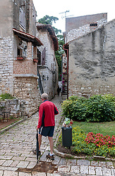 THEMENBILD - alte Häuser und Ruinen in der Altstadt, aufgenommen am 25. Juni 2018 in Porec, Kroatien // old houses and ruins in the old town, Porec, Croatia on 2018/06/25. EXPA Pictures © 2018, PhotoCredit: EXPA/ JFK