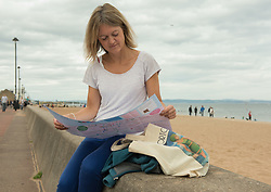 Portobello, Edinburgh's seaside suburb, is awash with Art. Almost everywhere you look there is something to see as the Art Walk Porty community art festival takes place, now extended to run over ten days covering the first two weekends of September. Pictured: The comprehensive map lists everything there is to see.<br /> <br /> <br /> © Jon Davey/ EEm