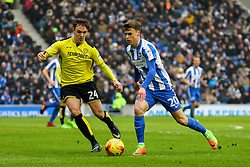 Solly March of Brighton & Hove Albion on the attack - Mandatory by-line: Jason Brown/JMP - 11/02/2017 - FOOTBALL - Amex Stadium - Brighton, England - Brighton and Hove Albion v Burton Albion - Sky Bet Championship