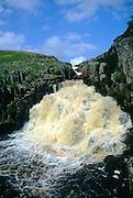 Cauldron Snout waterfall, County Durham, England