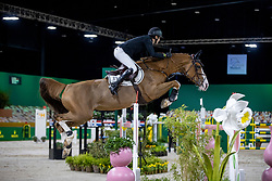 Devos Pieter, BEL, Jade vd Bisschop<br /> The Dutch Masters - 's Hertogenbosch 2021<br /> Rolex Grand Slam of Show Jumping<br /> © Dirk Caremans<br />  25/04/2021