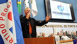 O candidato José Fortunati participa da conveção do PP - Partido Progressista na Câmara Municipal de Porto Alegre. FOTO: Jefferson Bernardes/Preview.com