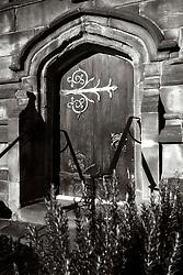 Doorway St Marys Church Ecclesfield<br /> <br />   07 January 2018 <br />   Copyright Paul David Drabble<br />   www.pauldaviddrabble.co.uk