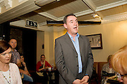 """19/7/2011. John Crumlish, Galway Arts Festival in McSwiggans for the pre show reception of Propellors """"Comedy of Errors"""" by Shakspeare in the Galway Arts Festival, sponsored by Ulster Bank. Photo:Andrew Downes"""
