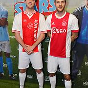 NLD/Rotterdam/20181014 - Iinloop premiere All Stars, Hugo Kennis en Thomas Cammaert