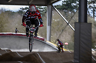 #640 (FABRE Timothe) FRA at the 2018 UCI BMX Superscross World Cup in Saint-Quentin-En-Yvelines, France.