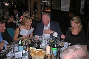 Mati Pierre White and Lord Hesketh. Conservative fund raising dinner hosted  by Marco Pierre White and Franki Dettori at  Frankie's. Knightsbridge. 17 January 2004. ONE TIME USE ONLY - DO NOT ARCHIVE  © Copyright Photograph by Dafydd Jones 66 Stockwell Park Rd. London SW9 0DA Tel 020 7733 0108 www.dafjones.com