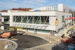 Bridgeport Hospital Park Avenue Campus Outpatient Center. Architect: Shepley Bulfinch. Contractor: Gilbane Building Company, Glastonbury, CT. James R Anderson Photography, New Haven CT photog.com. Date of Photograph 09 November 2015  Submission 20  © James R Anderson