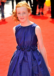 © Licensed to London News Pictures. 24/07/2011. London, England.Scarlett Stitt attends the World premiere of Horrid Henry at the BFI on Londons Southbank. Photo credit : ALAN ROXBOROUGH/LNP