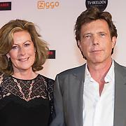 NLD/Amsterdam/20140303 - Uitreiking TV Beelden 2014, John de Mol en partner Els Verkerk