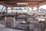 The Synagogue at the ruins of Magdala (Mejdel) - current day Migdal. On the Sea of Galilee