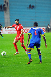 March 22, 2019 - Rades, Tunisia - Siyam Ben Youssef(2) of Tunisia  during the Match Tunisia vs Eswatini at the Rades Olympic stadium in the last qualifying round of the 2019 African Nations Cup finals vs. Tun vs Eswatini 4/0. (Credit Image: © Chokri Mahjoub/ZUMA Wire)
