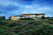 Modern beach house, Truro, Cap[e Cod, Massachusetts, USA.