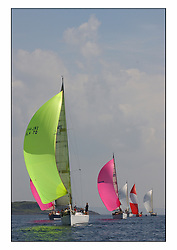 Bell Lawrie Series Tarbert Loch Fyne - Yachting.The third day's inshore races, which transpired to be the last...First 47.7 ,  IRL 4470 White Tiger ahead of the Class one fleet...