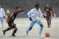 Onazi Ogenyi Eddy Lazio.Torino 16/03/2013 Stadio Olimpico Torino.Football Calcio Serie A  2012/13.Torino vs Lazio.Foto Insidefoto Federico Tardito