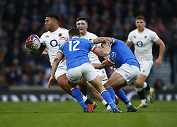 March 9, 2019 - London, England, United Kingdom - London, ENGLAND, 9th March .Billy  Vunipola of England.during the Guinness 6 Nations Rugby match between England and Italy at Twickenham  stadium in Twickenham  England on 9th March 2019. (Credit Image: © Action Foto Sport/NurPhoto via ZUMA Press)