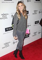 "2018 Tribeca Film Festival - ""The Journey - Sarah Jessica Parker"". 27 Apr 2018 Pictured: Sarah Jessica Parker. Photo credit: MEGA TheMegaAgency.com +1 888 505 6342"