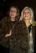 DANIELLE LUXEMBOURG AND PAULA CUSSI. Opening of 'From Russia' Royal Academy of arts. Picadilly. London. 22 January 2008. -DO NOT ARCHIVE-© Copyright Photograph by Dafydd Jones. 248 Clapham Rd. London SW9 0PZ. Tel 0207 820 0771. www.dafjones.com.