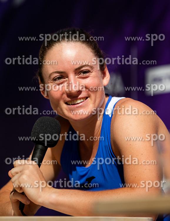 PORTOROZ, SLOVENIA - SEPTEMBER 13:  Tamara Zidansek  during press conference of WTA 250 Zavarovalnica Sava Portoroz at SRC Marina, on September 13, 2021 in Portoroz / Portorose, Slovenia. Photo by Vid Ponikvar / Sportida