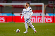 Leeds United midfielder Pablo Hernandez (19)  during the The FA Cup match between Crawley Town and Leeds United at The People's Pension Stadium, Crawley, England on 10 January 2021.
