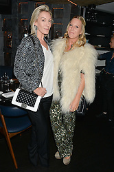 Left to right, OLIVIA BUCKINGHAM and ALICE NAYLOR-LEYLAND at a dinner to celebrate London Fashion Week SS 2015 and the opening of Ramusake at 92 Old Brompton Road, London on 15th September 2014.