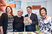 27/1/16 US Chargé d'affaires Reece Smyth at the Texas stand at the Holiday World Show 2017 at the RDS Simmonscourt in Dublin. Picture: Arthur Carron