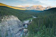 Crescent Falls, Bighorn Wildland, Alberta
