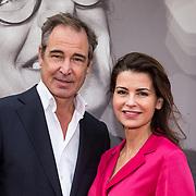 NLD/Amsterdamt/20180930 - Annie MG Schmidt viert eerste jubileum, Caroline De Bruijn en partner Erik de Vogel