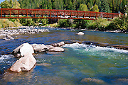 Bridge over the San Juan River, Pagosa Springs, Colorado