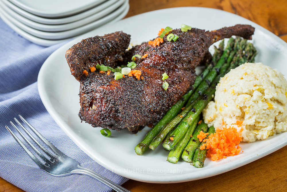 Regatta Louisiana Seafood and Steakhouse restaurant offers a wonderful duck recipe, a <br /> 1/2 duck cooked till it's crispy and finished with a cane syrup glaze. The restaurant is located on Lake Arthur along the Flyway Byway in Jefferson Davis Parish, La.
