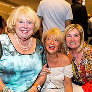 NLD/Rotterdam/20170825 - Boekpresentatie Eddy Ouwens, Tineke de Nooy en vriendin Trudy Huysdens