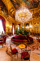 Grand Salon, Apartment, Napoleon III, Louvre Museum, Paris, France.