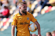 Daniel Butler of Newport county looks on.  EFL Skybet football league two match, Newport county v Cheltenham Town at Rodney Parade in Newport, South Wales on Saturday 10th September 2016.<br /> pic by Andrew Orchard, Andrew Orchard sports photography.