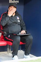 October 28, 2017 - Madrid, Spain - Mono Burgos (second coach of Atletico de Madrid)..Draw at 1 in Wanda Metropolitano stadium. (Credit Image: © Jorge Gonzalez/Pacific Press via ZUMA Wire)