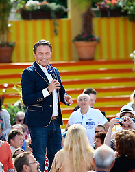 """31.05.2015, Europapark, Rust, GER, TV Show, Immer wieder Sonntags, im Bild Stefan Mross // during the German Music TV Show """"Immer wieder Sonntags"""" at the Europapark in Rust, Germany on 2015/05/31. EXPA Pictures © 2015, PhotoCredit: EXPA/ Eibner-Pressefoto/ Goermel<br /> <br /> *****ATTENTION - OUT of GER*****"""