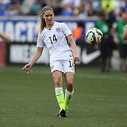 Morgan Brian, U.S. Women's National Team, in action during the U.S. Women's National Team Vs Korean Republic, International Soccer Friendly in preparation for the FIFA Women's World Cup Canada 2015. Red Bull Arena, Harrison, New Jersey. USA. 30th May 2015. Photo Tim Clayton