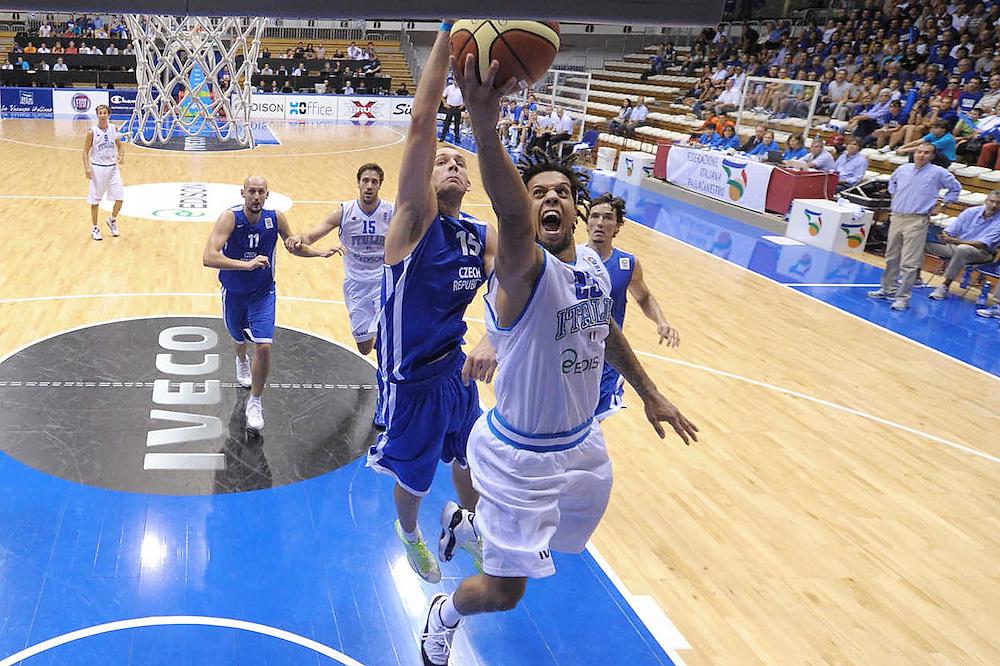 Trieste, 02/09/2012<br /> Basket, Eurobasket 2013 Qualifying Round<br /> Italia - Repubblica Ceca<br /> Nella foto: Daniel Hackett<br /> Foto Ciamillo