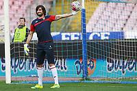 Mattia Perin Genoa,  <br /> Napoli 20-03-2016 Stadio San Paolo<br /> Football Calcio Serie A 2015/2016 Napoli - Genoa<br /> Foto Cesare Purini / Insidefoto