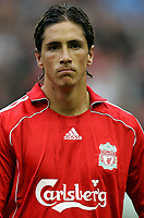 Photo: Paul Thomas.<br /> Liverpool v Chelsea. The FA Barclays Premiership. 19/08/2007.<br /> <br /> Fernando Torres of Liverpool.