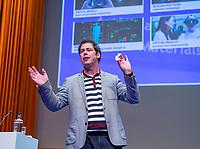 UTRECHT - spreker Arno Hermans.  Het KNHB Nationaal Hockey Congres 2020, Samen werken aan de   toekomst. COPYRIGHT  KOEN SUYK